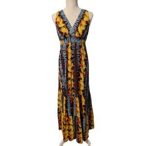 CAbi #415 Boho Style Fruit Maxi Dress